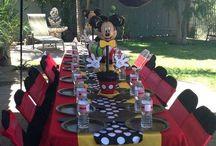 Mickey Muis partytjie