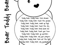 Teddy bears picnic, goldilocks and three bears