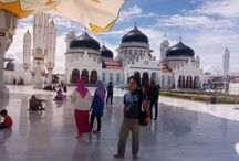 Masjid raya Aceh Baiturrahman / some footage of my brother (Irfan) in Aceh