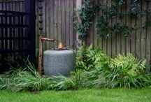 Japanese style gardens / Tranquil Japanese style gardens.