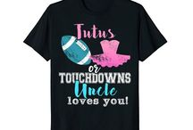 Tutus or Touchdowns Gender Reveal