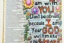 Beautiful Bible Journaling / Beautiful journaling Bibles that inspire His word