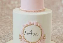 Girl 1st birthday and christening ideas / Graces 1st birthday ideas