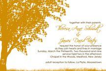 Wedding invites / by Abby Kerr
