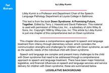 Down Syndrome OT PT SLP