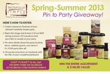 Ultimate Tastefully Simple Party Giveaway! / by Judy Pulling