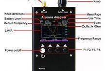 SURECOM SA250 132-173 / 200-260 / 400-519MHz Colour Graphic Antenna Analyzer http://www.409shop.com/409shop_product.php?id=123944
