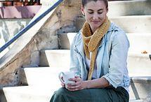 Asymmetrical scarves
