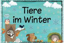 Thema Winter und Weihnachten Kita