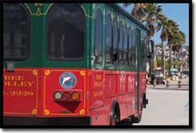 Trust the Avila Trolley / So many places to see! Where will you let the Avila Trolley take you?