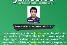 Jamboree India Achievers‬ Feb 2015 / Jamboree India is the most experienced institute in India offering comprehensive preparation programs for tests like GMAT®, GRE®, SAT®, TOEFL® and IELTS.
