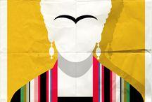 Frida K / Cartapesta, pasta modellante, murrine e tanto amore