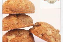 Santo Cookie / Cookies caseiros, saborosos e macios. 10 sabores deliciosos com opções integrais! Sob encomenda!! Faça seu pedido!! Insta @santocookie   Facebook.com.br/santocookiee