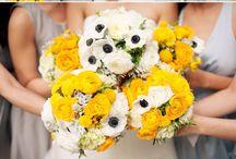 Bouquet / Keep an open mind & try choosing in-season, less exotic flowers.
