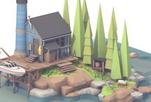 Low-Poly Environments