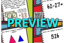 School review for the boys / by Jessica Siani
