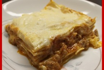 Classic Italian Lasagna / Today: Classic Italian Lasagna - Only with fresh lasagna noodles, with the real Ragù Bolognese Sauce, with a silky Italian Bechamel sauce, and lots of Grana Padano or Parmigiano Reggiano Cheese freshly grated!  PHOTO COURTESY Chef Mama Isa at Cooking Classes in Venice (official website http://isacookinpadua.altervista.org/)  Book our new cooking class in Italy near Venice at about the traditional Italian Lasagna. http://isacookinpadua.altervista.org/lasagna.html