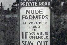 nude  farmers