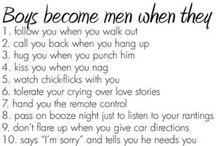 Boys to Men / by Kim Davey