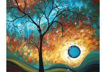colorful landscapes / landscapes with different colors