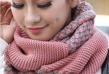 Como hacer bufandas