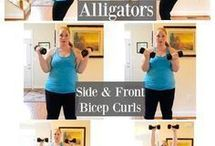 Upper body weights workout
