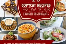 Copy cat food recipes from favorite restaurants