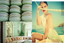 Turquoise inspirations / Inspirations from the colour turquoise