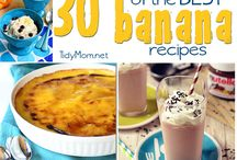 Banana Recipes / by Karen Puleski