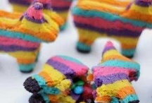 rainbow cookies / by Beth Tomkow