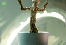 Groot- guardians of the galaxi