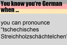 Yk you're german when