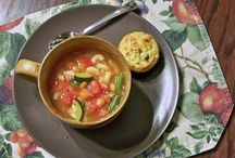 Soup Recipes / Soup recipes galore!  Easy dinner recipes with hearty soups sure to please the whole family.
