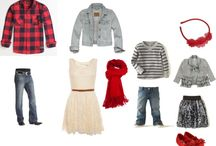 Christmas wardrobe Styling