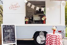 Food Market ❁❀❁♫ / food truck, lunch truck, food cart, pop-up cafe... http://shelleynovotny.com/ Invite