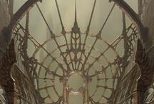gothic decor elements