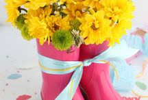 Flowers for baby showers