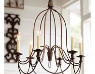 HOUSE LIGHTING / Lighting I am thinking about for my own home / by Catherine Quick