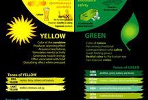 infographic - Colors / mix stuff