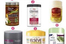 produtos de cabelo