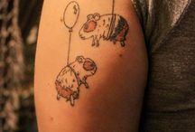 Guinea pig tattoo / :)