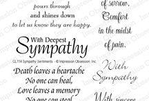 Card sayings. Birth,wedding, sympathy