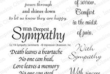 Sayings / Sympathy