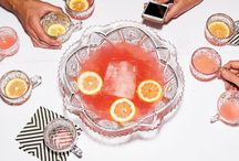 Punch Bowls / The Prettiest Punch Bowls!  ~Recipes, Styling Notes, Party Tricks~ / by Gastronomista