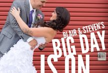 Featured Real Wedding: Blair & Steven / What was the most amazing part of Blair & Steven's wedding day? Head over to  the blog to find out and see their beautiful photos from Lixxim Photography?  here:  http://www.realweddingsmag.com/real-weddings-wednesday-presenting-blair-steven/