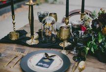 Bohemian wedding stationery