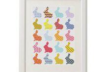 Cross Stitch  Pattern Rabbit / crossstitch