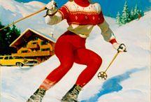 Strikkegenser ski