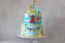 Nautical / Beach Party / Ahoy! An ocean of inspiration for nautical or beach themed party or shower filled with anchors, boats, ships, and sea life!  Sea of ideas for cakes, cupcakes, cookies, and decorations! / by RoseBakes.com