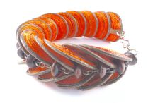Fair trade, handmade cotton fibre bracelets from Colombia. / Unique and beautiful hand made bracelets inspired by nature.